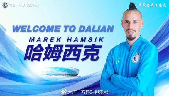 Officiel: Marek Hamsik signe en Chine pour 15 ME