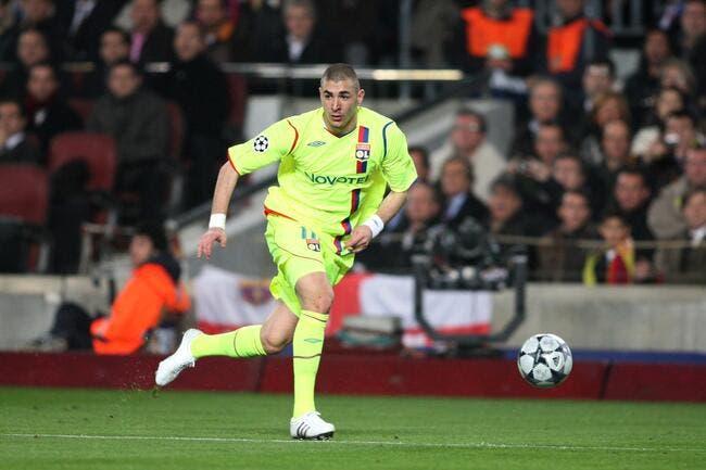 OL : Pas emballé par la star de l'OL, le Barça a refusé Benzema