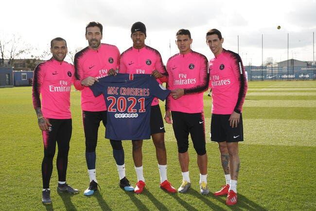 Le nouveau sponsor maillot est français (off) — Paris SG