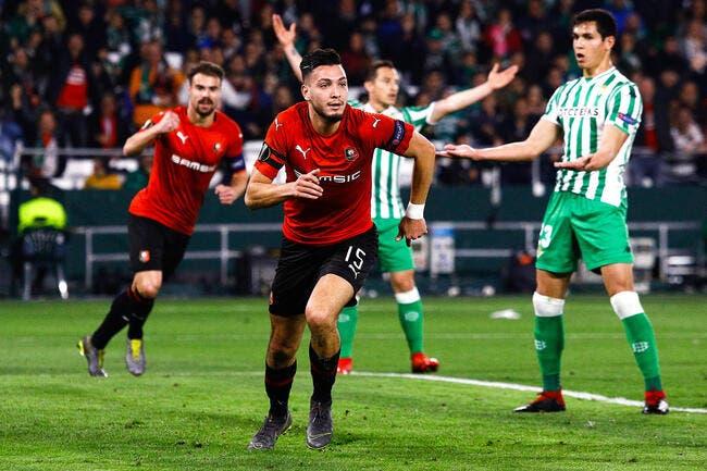 Tribune CS - Real Betis / Stade Rennais (1-3)