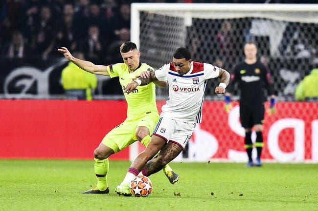 OL : Lyon ne fait pas du tout rire le Barça même au Camp Nou
