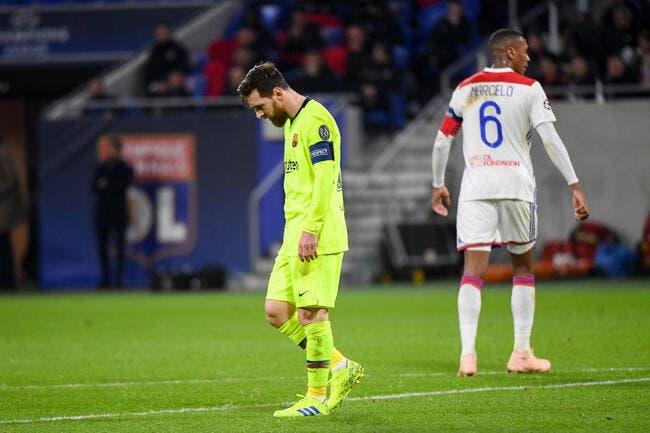 Barça: L'OL a provoqué une réunion de crise dans le vestiaire