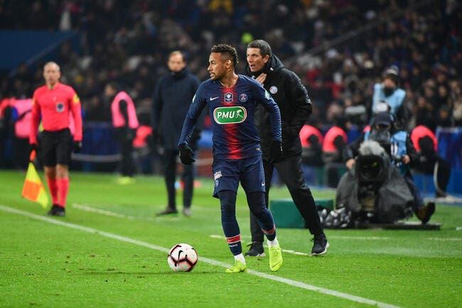 Neymar est blessé, il n'était pas clean insiste Laurey — PSG