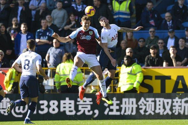 Ang : Tottenham se fait surprendre à Burnley