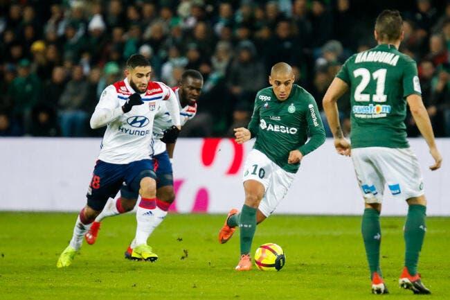 OL : Battu dans le derby, Wahbi Khazri chatouille Lyon