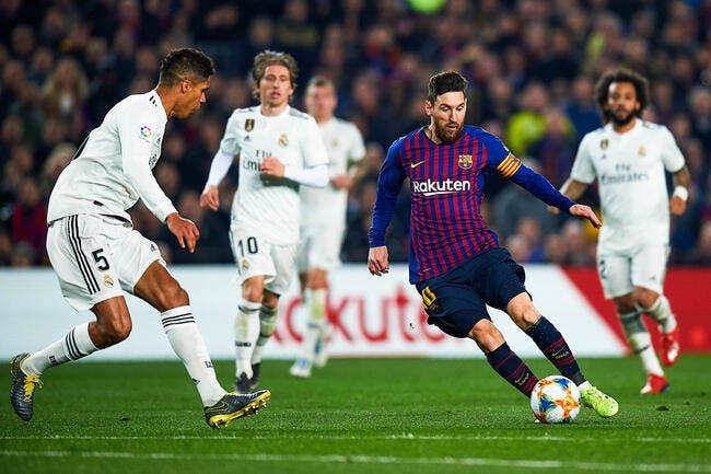 Esp : Barcelone avantagé en Liga, le Real Madrid hurle au scandale