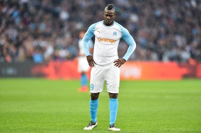 OM : Un atout à 14ME par an pour garder Balotelli à Marseille