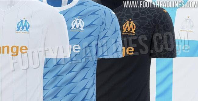Les tenues de Marseille pour la prochaine saison sont connues — OM