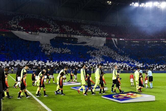 OL : 4.000 supporters lyonnais au Camp Nou, c'est sold-out !