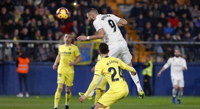 Esp : Le Real Madrid tenu en échec à Villarreal malgré 2 buts français