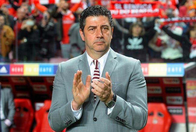 Por : Benfica vire son entraîneur !