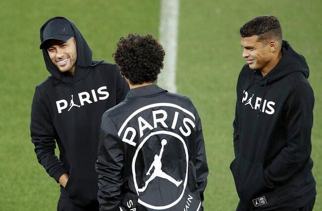 PSG : Neymar et Thiago Silva font une bonne surprise à Paris
