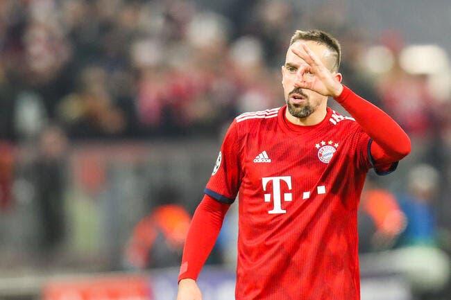 All : Ribéry disjoncte et choisit l'insulte pour répondre aux attaques