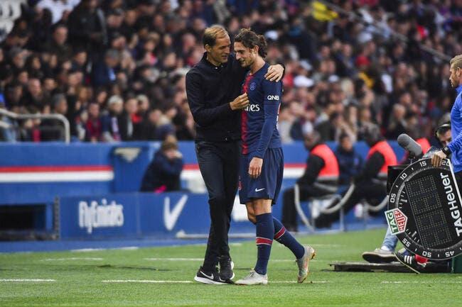 PSG: Rabiot joue la provocation, Tuchel le rappelle à l'ordre