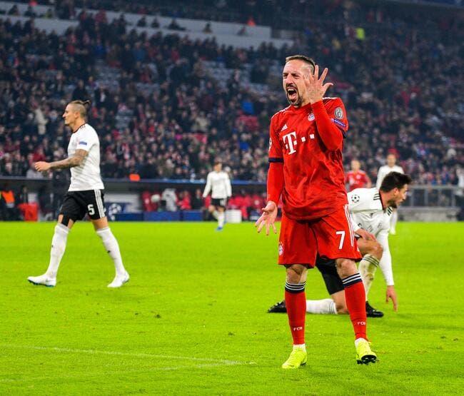 Steak doré : Lourde amende pour Ribéry, le Bayen n'a pas aimé ses insultes