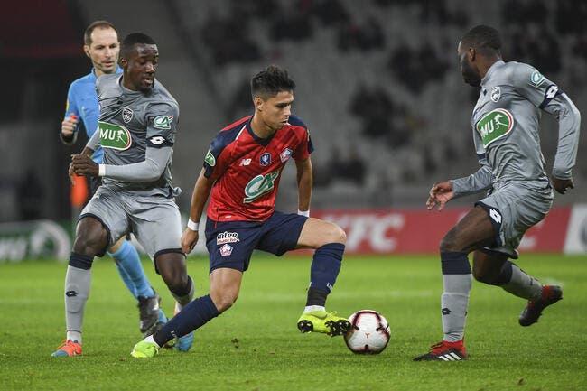 CdF : Ça passe pour Lille, vainqueur de Sochaux sans trembler