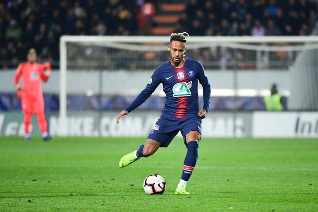 PSG : L'extraterrestre Neymar écrit la légende du PSG, la preuve