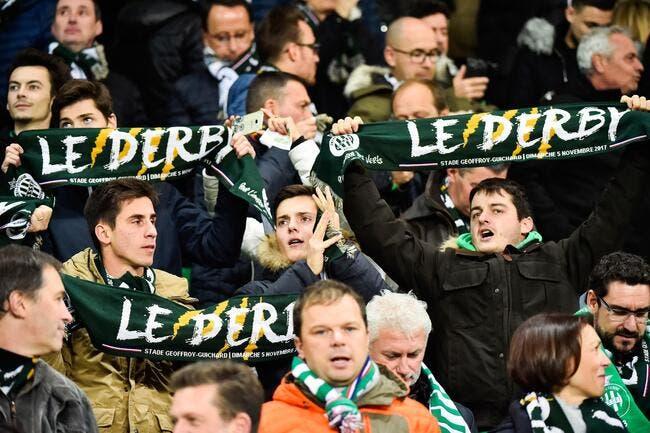 ASSE-OL : Un derby sans Lyonnais à Geoffroy-Guichard
