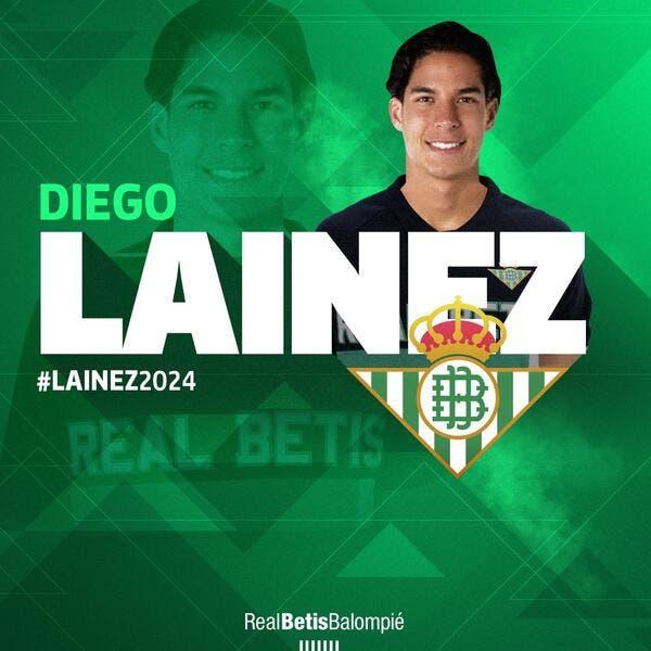 Officiel: Diego Lainez signe au Bétis Séville