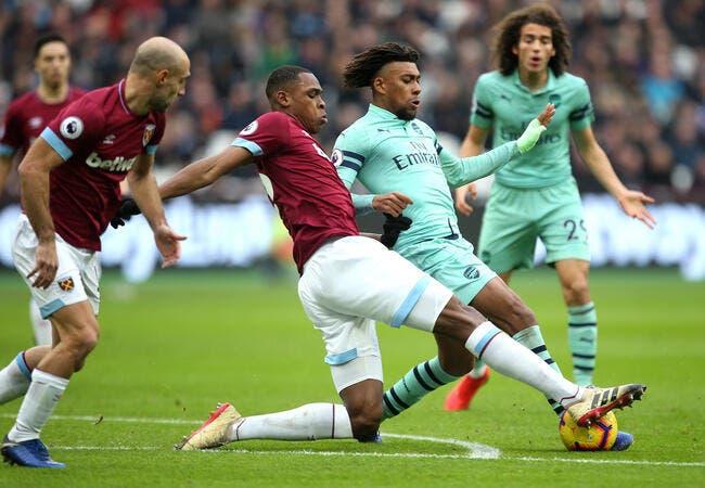 Ang : West Ham plonge Arsenal dans le doute