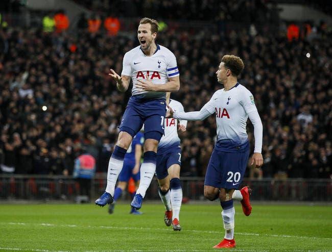 Mercato: Tottenham réclame 350 ME pour Kane, le Real hésite