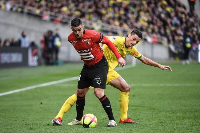 L1 : Rennes vient s'imposer à Nantes et s'offre le derby !