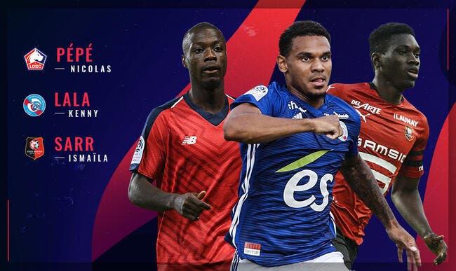L1 : Pépé, Lala ou Sarr, qui sera élu joueur du mois en décembre ?