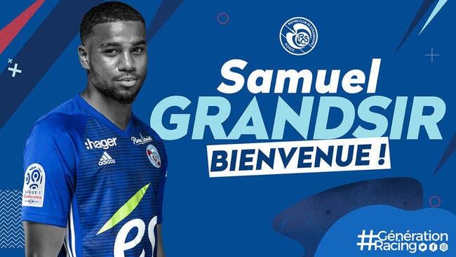 Officiel : Monaco prête Samuel Grandsir à Strasbourg