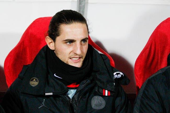 PSG : Adrien Rabiot toujours puni ce lundi !