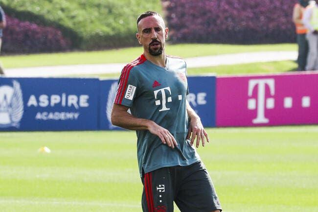 Bayern : Ribéry a franchi la ligne rouge, il prend un tacle Kolossal !