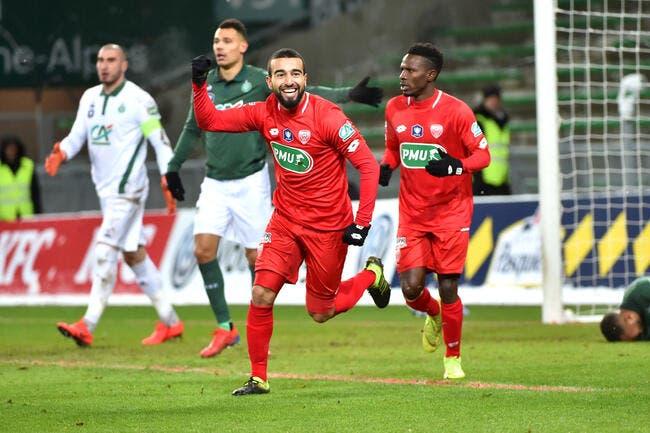 CdF : Saint-Etienne ridiculisé par Dijon, Caen et Rennes assurent