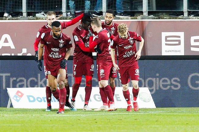 L2 : Metz cartonne Nancy dans le derby
