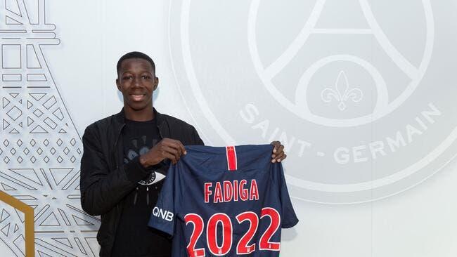 Officiel : Bandiougou Fadiga signe son premier contrat pro au PSG