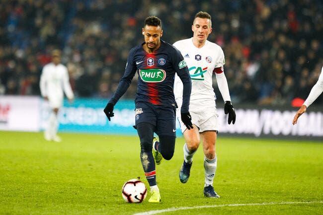 PSG : Cazarre soutient Neymar et défonce Strasbourg, ça pique