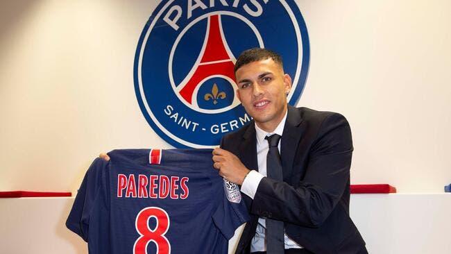 PSG: Les premiers mots de Paredes après sa signature à Paris