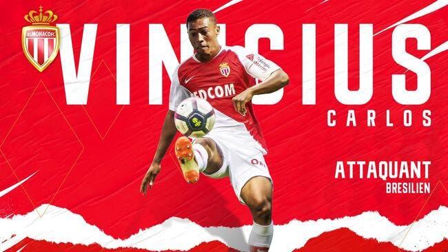 Officiel: Carlos Vinicius arrive à Monaco