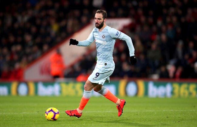 PL : Chelsea et Higuain laminés à Bournemouth !