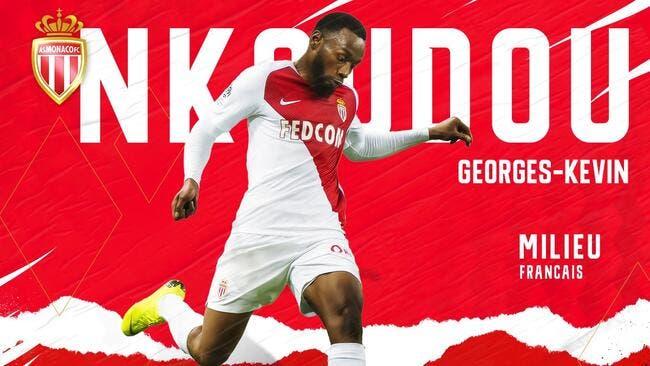 ASM : GK Nkoudou revient en L1 et signe à Monaco