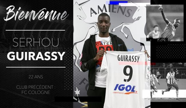 Officiel : Amiens déniche Guirassy pour l'opération maintien