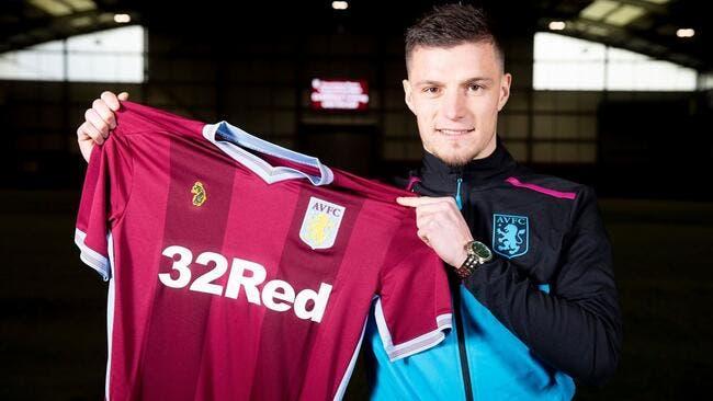 Officiel : Guilbert transféré à Aston Villa... et prêté à Caen