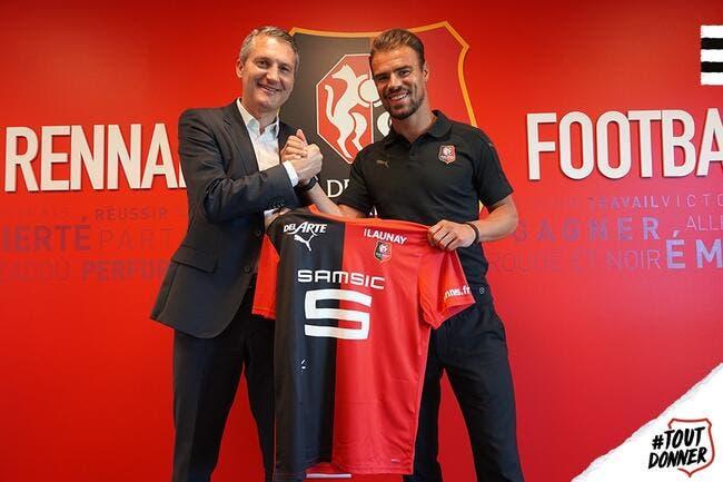 Officiel : Damien Da Silva prolonge à Rennes