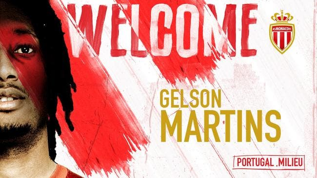 Officiel : Gelson Martins définitivement à Monaco