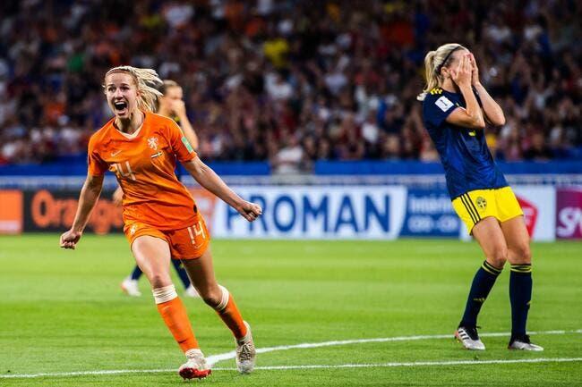 CdM Fem : Les Pays-Bas rejoignent les USA en finale !