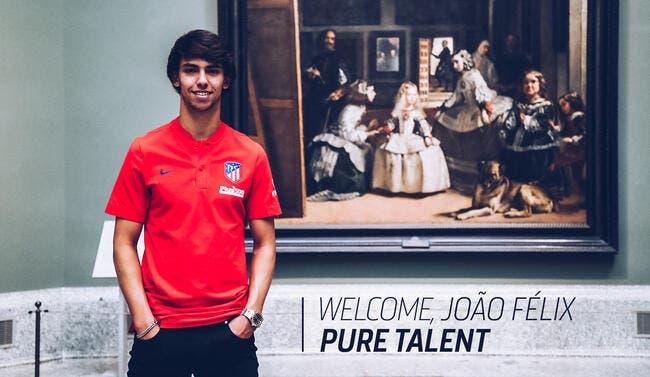 Esp : Joao Felix signe pour 126ME à l'Atlético Madrid !