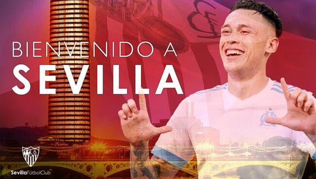 OM : Lucas Ocampos signe pour 5 ans au FC Séville !