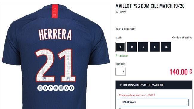 PSG : Herrera à Paris, un bug dévoile sa signature !