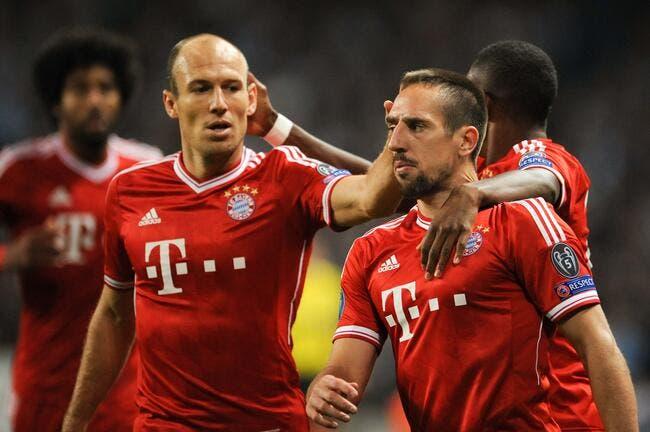 Bayern: Ribéry lui a collé une droite, Robben a du mal à s'en remettre