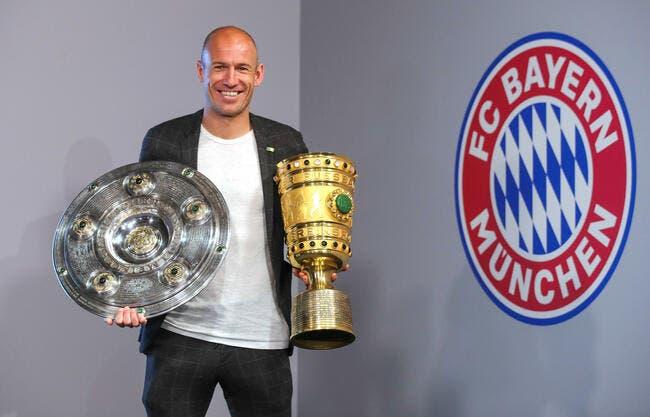 Officiel: Arjen Robben arrête le football
