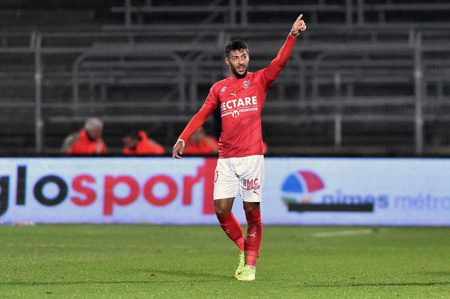 Denis Bouanga est le nouvel attaquant des Verts — AS Saint-Etienne