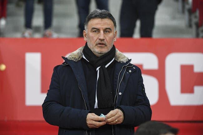 Lille: Sans Pépé, Mendes ni Koné, Galtier annonce un effectif niveau C1